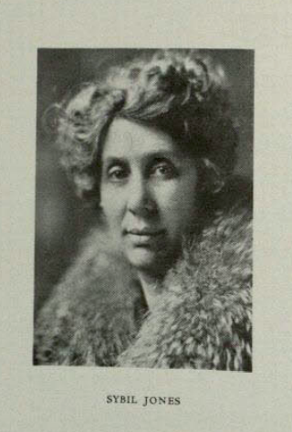 Yearbook photo for SDSU Theatre faculty member Sybil Eliza Jones from the 1930 SDSU Yearbook.